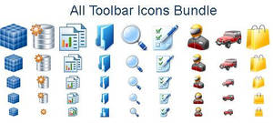 All Toolbar Icons