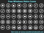 Free Windows Metro Icons