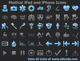 Medical iPad and iPhone Icons by Iconoman