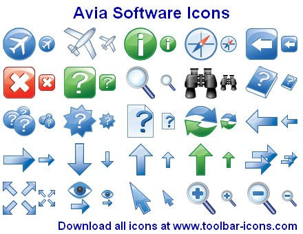 Avia Software Icons by Iconoman