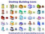 Desktop Building Icons