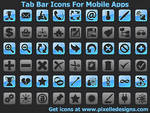 TabBar Icons For Mobile Apps