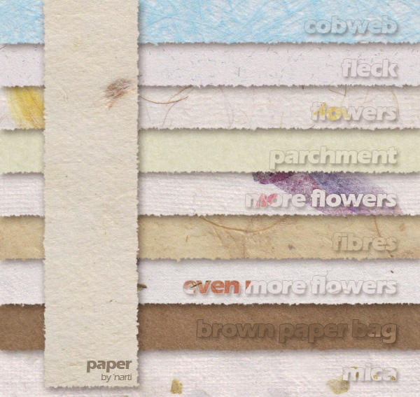 Paper Textures by annarti