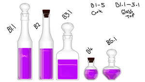 Potion Bottles DL - update in description by Littlemisshorror
