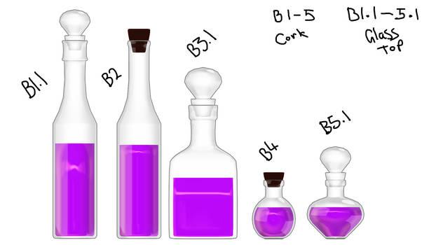Potion Bottles DL - update in description by Littlemisshorror