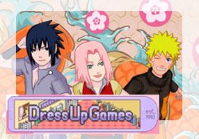 DressUpGames - Sakura (Team 7) by tweendoll