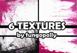 6 Black and Purple Textures by fungopolly
