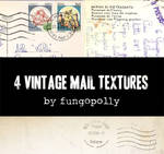 4 Vintage Mail Textures