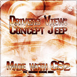 Drivers View: Concept Jeep CS2 by JimHeretic
