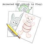 Childhood Drawings (Animated GIF)