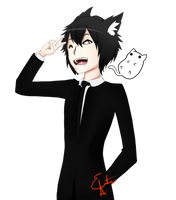 The Anime Man by AsgitariuosEstis