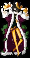 King Anime Man by AsgitariuosEstis