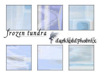 Textures 'frozen tundra'