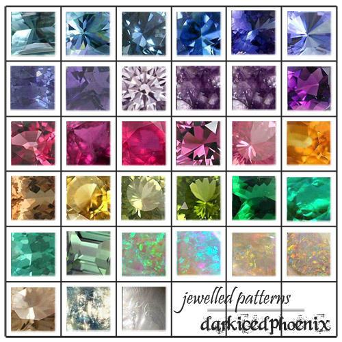 Jewel Patterns by darkicedphoenix