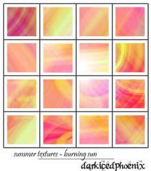 Texture set04 - Burning Sun