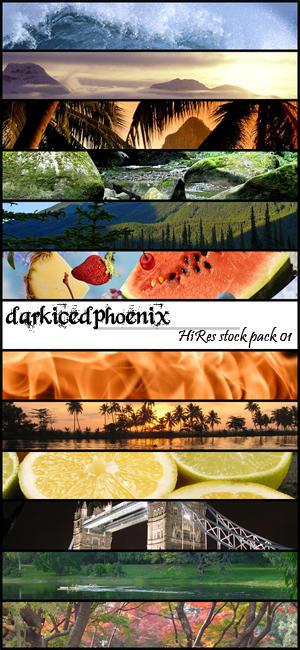 HiRes Stock set01 by darkicedphoenix