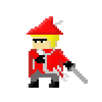 OC - Guilty Manners - Animated Sword swipe GIF