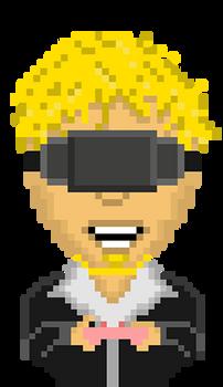 Oculus Gamer Hype - Animated Gif