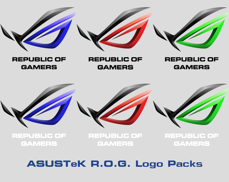 asustek r o g logo packs by alphaziel on deviantart rh alphaziel deviantart com republic of gamers logo png republic of gamers logo wallpaper