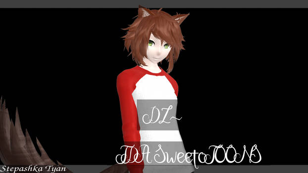 ||:.MMD.:|| SweetoTOONS ||:.test model+DL.:|| by Stepashka-Tyan
