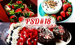 PSD #18 - strawberry by KerosHyun