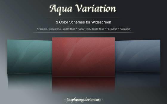 Aqua Variation in Crimson