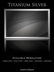Titanium Silver Wallpaper Pack by JosephYang