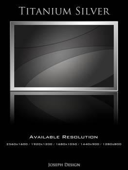 Titanium Silver Wallpaper Pack