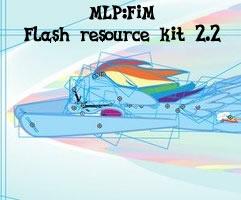 My Little Pony: Flash resource kit (version 2.2) by Drud14