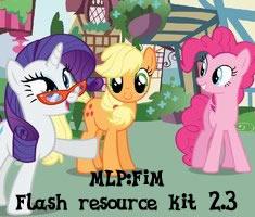 My Little Pony: Flash resource kit (version 2.3) by Drud14