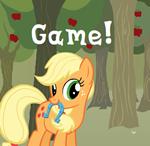 Applejack's Horseshoe Toss by Drud14