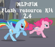My Little Pony: Flash resource kit (version 2.4)