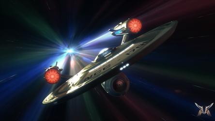 Star Trek Discovery - USS Enterprise 2018. by Marty-Man