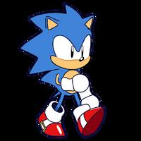 (SMA)- Sonic Walk Cycle