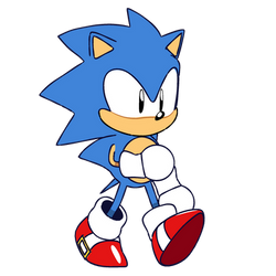 (SMA)- Sonic Walk Cycle