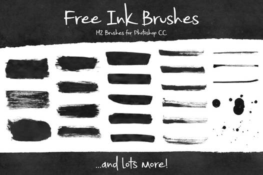 Free-Ink-Brushes-for-Photoshop