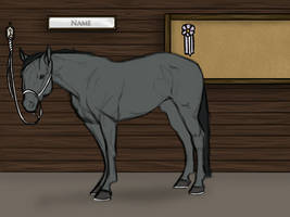 Horse Design/Reference Template by WesternSpurs
