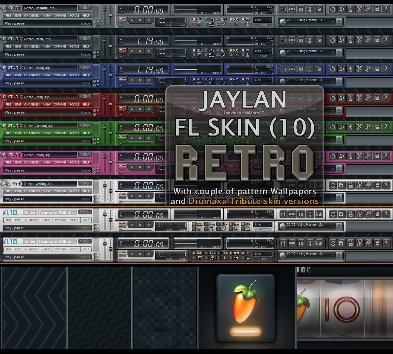 fl studio 12 skins free