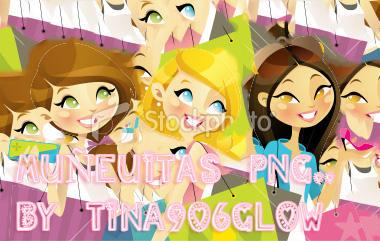 pack de png munequitas 1 by Tina906glow