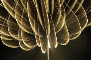 Bending fireworks