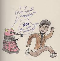 Daddy Dalek by DiggerGoth
