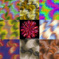 Fuzzy Something GIMP Brush by icycatelf