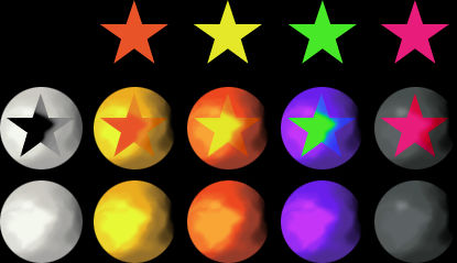 Level Star Template (PSD)