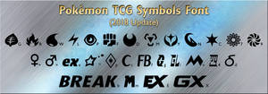 Pokemon TCG Symbols Font