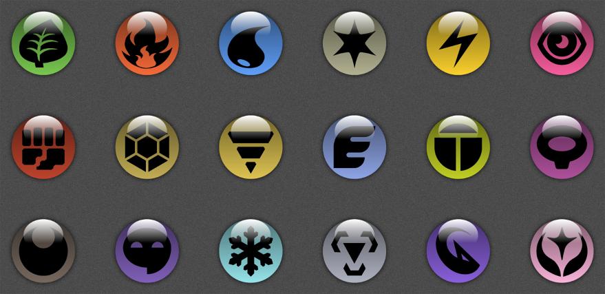 Ground Symbol Pokemon Custom Icons and Symbo...