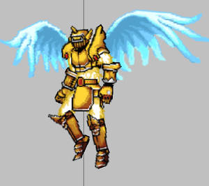 spear  guardian  idle animation  fly
