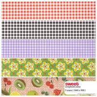 Sweet scrapbook textures by cherry-fields