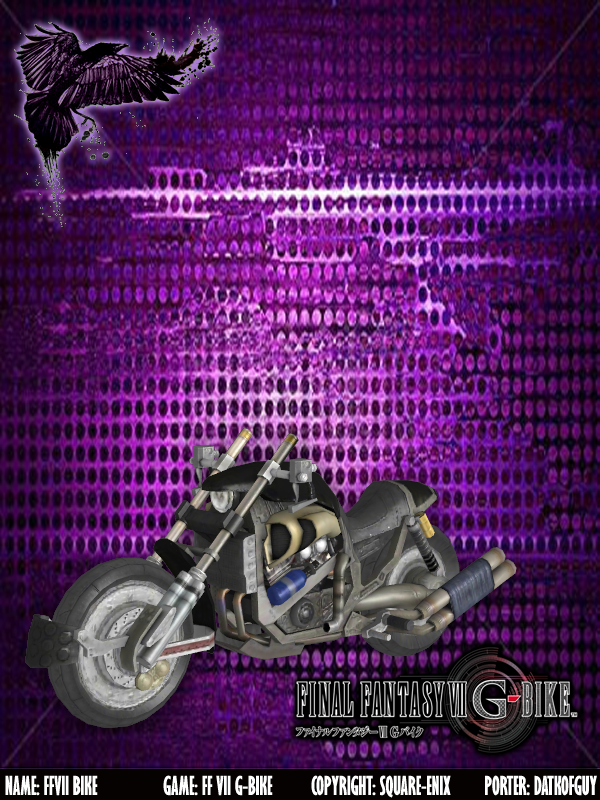 FFVII G-Bike - FFVII Motorcycle by DatKofGuy