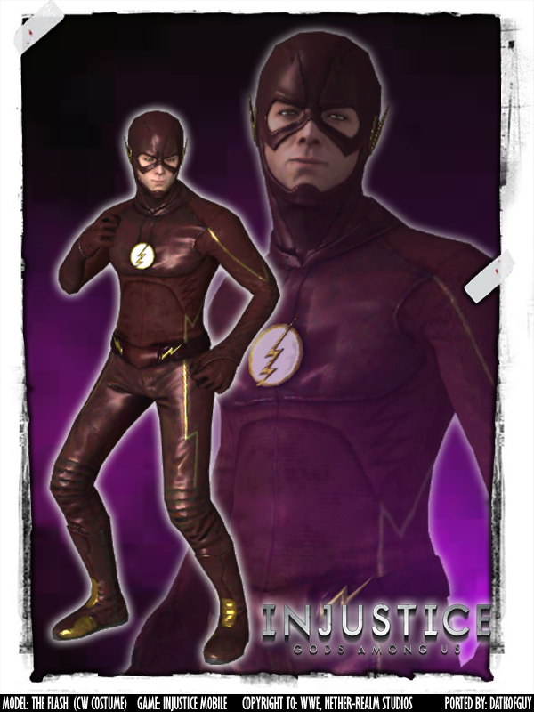 Injustice The Flash CW