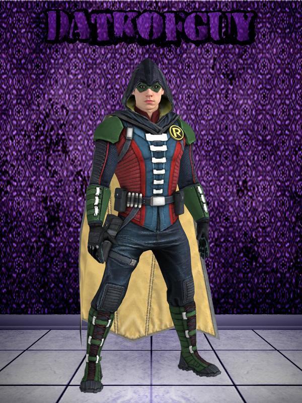 Nightwing Costume Injustice